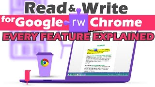 How to use Read & Write Google Chrome Web Extension - Tutorial for Teachers (2020)