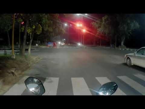 Chandigarh policeman|| jumping red light || law violation