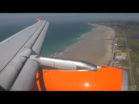 Easyjet EZY725 London Southend (SEN) - Jersey (JER) *FULL FLIGHT* Airbus A319 G-EZBL 23/5/15