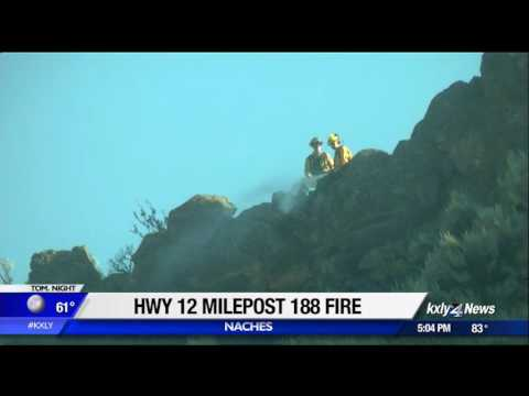 Wildfires continue to burn across Central Washington