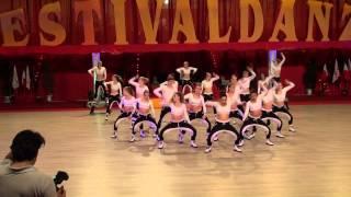 2014 06 Weltmeisterschaft Cervia Smarteys DANCEsensation  Weddelbrook 5. Platz
