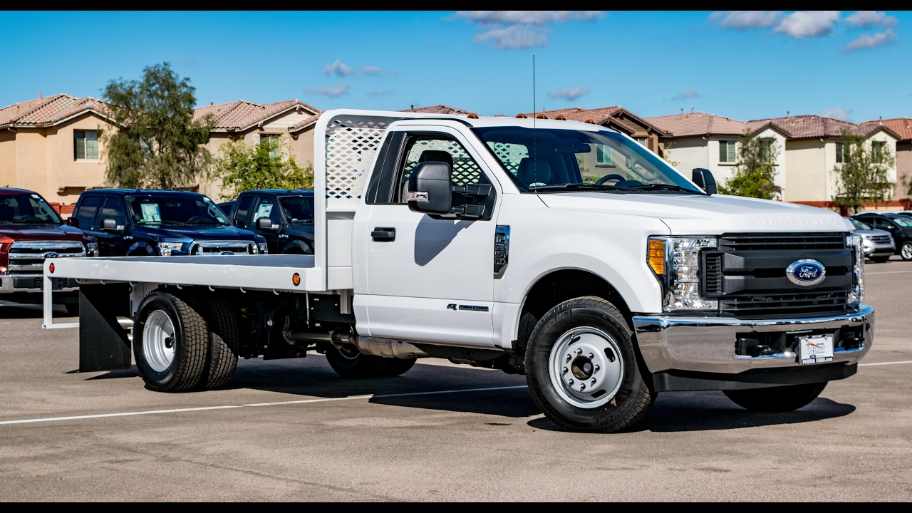 2017 Ford F-350 Rc Scelzi Hd Flatbed Walkaround