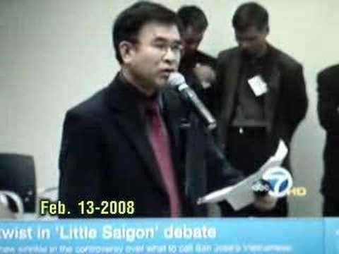 "New Twist in ""Little Saigon"" Debate - Feb. 13-2008"