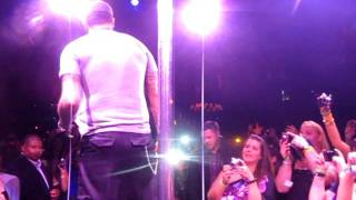 AJ McLean Pole Dancing at Backstreet Boys Cruise Pre-Party at Cameo, Miami, 2011