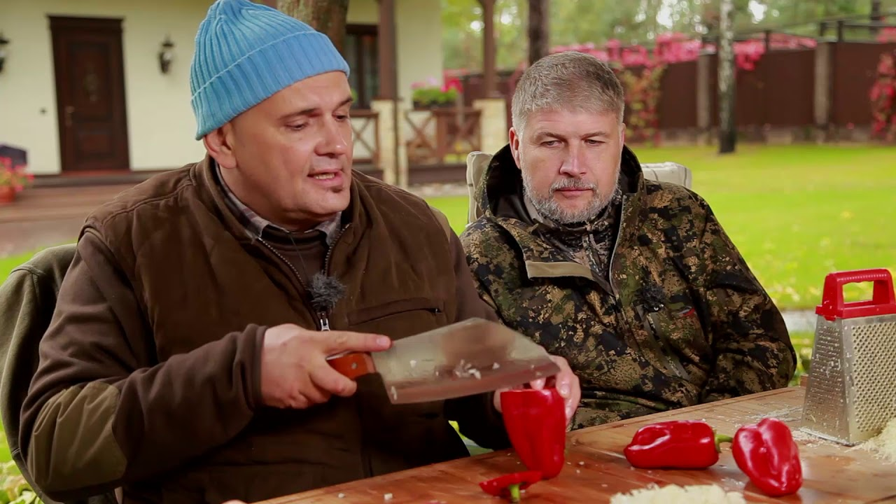 Готовим пасту из мяса лося с Сержем Марковичем.