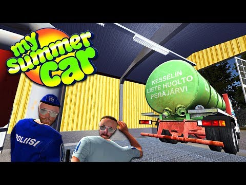 New Water Treatment, New Laws, Mail and Battery Update!  | My Summer Car | Episode 21