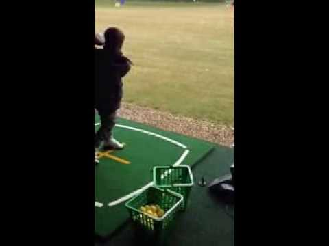 Morgan 1st golf lesson