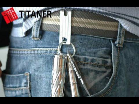 Titaner Titanium Pocket Clip TI Money Clip