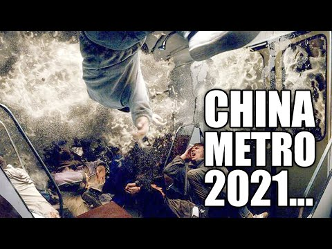 APOCALYPSE in China! People are trapped! Severe flooding in the subway! Lord help Zhengzhou!