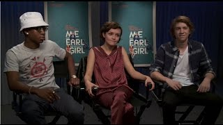Thomas Mann, Olivia Cooke, & RJ Cyler (Me and Earl and the Dying Girl) Interview