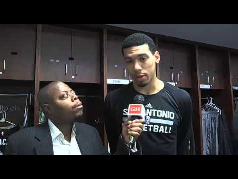 San Antonio Spurs guard Danny Green Interview