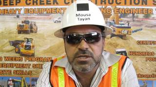 Heavy Equipment Operator Video Resume-Mousa Tayan