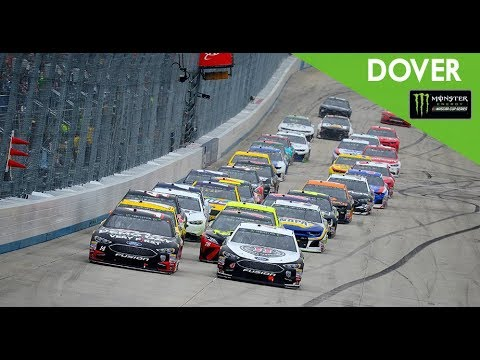 Martin Truex Jr. drives from back to front to take NASCAR race at Dover
