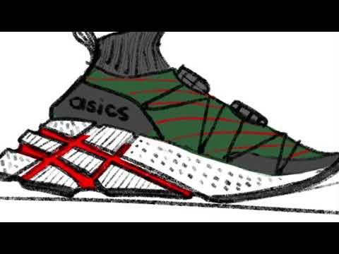 Nicco Pintac – Pensole x Footlocker x Asics Footwear Design Submission
