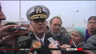► US destroyer visits Shanghai
