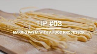 Video How to make pasta with a food processor download MP3, 3GP, MP4, WEBM, AVI, FLV Januari 2018