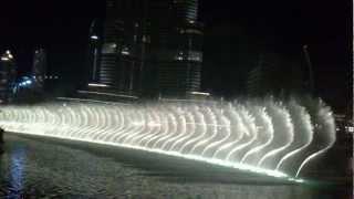 Amazing Opening | Burj Khalifa fountain - SAMA DUBAI