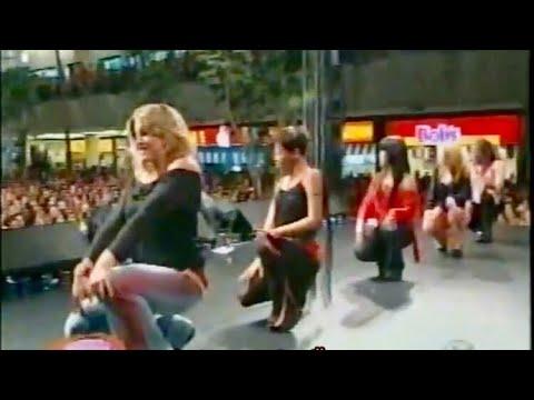 Programa Popstars: Show do Rouge em Campinas (Sbt 2002)