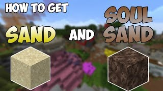 How to get SAND and SOULSAND in Hypixel Skyblock