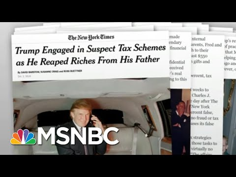 Tell-All Book Renews Attention On Trump Sister's Ethics Inquiry | Rachel Maddow | MSNBC