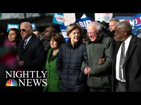 Democratic Candidates Honor MLK Day Together In South Carolina | NBC Nightly News