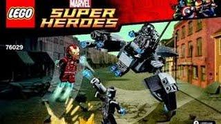 レビューのおもちゃ  Lego Marvel Super Heroes Avengerss Iron Man vs Ultron -  レゴNinjago 76029
