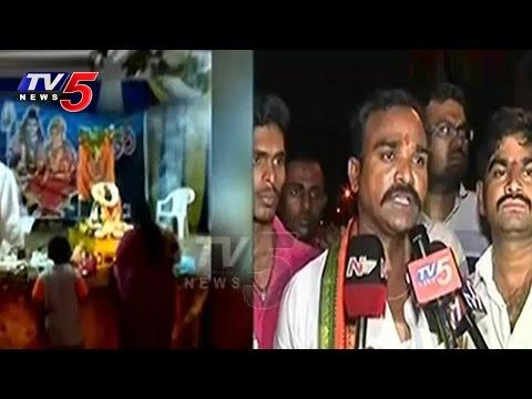 Vinayaka Temple Demolised | Tension Situations In Kothapet | TV5 News