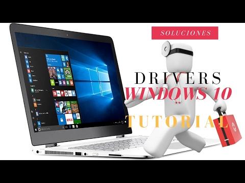 Solución error con los controladores en Windows 10