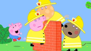 Peppa Pig Official Channel | Mummy Pig's Best Firefighter's Moment