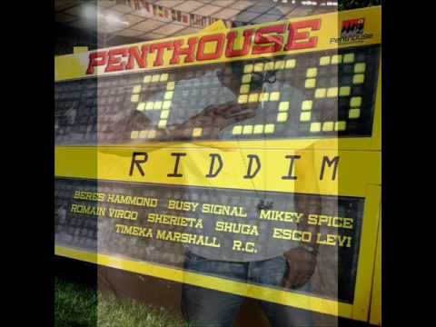 """PENTHOUSE RECORDS PRESENTS  """"9.58 RIDDIM"""" (Mixed by Future World Dj Pelps)"""