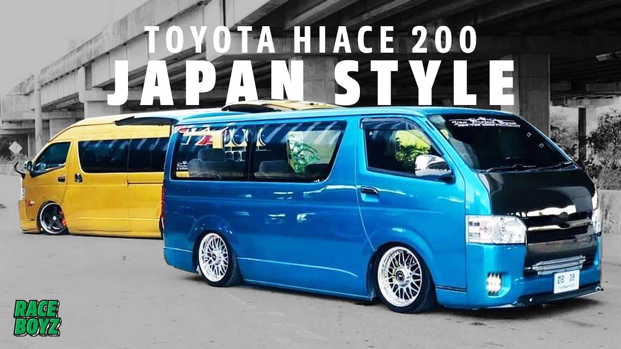มาแปลก! รถตู้ Toyota Hiace โม่งน้อย สวย! เรียบ! สไตล์ JDM