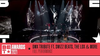 Swizz Beatz, The Lox, Method Man \u0026 More Honor DMX With A Medley Of His Hits   BET Awards 2021