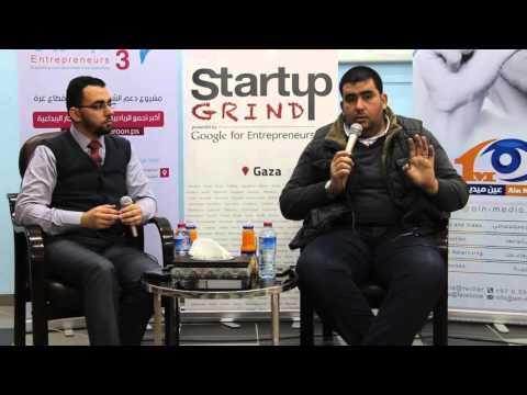 Naim Siksik (Siksik Co) at Startup Grind Gaza