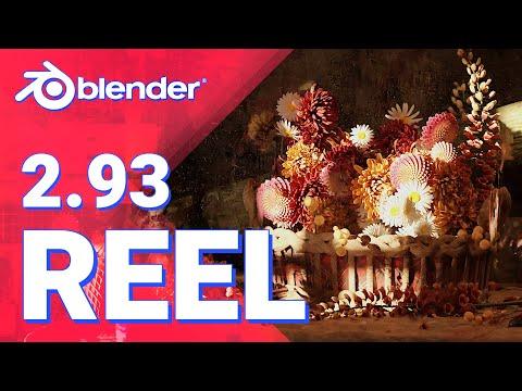 Blender 2.93 LTS - Features Reel Showcase
