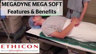 MEGADYNE MEGA SOFT Patient Return Electrode Features and Benefits | ETHICON screenshot 5