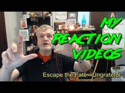 Escape The Fate - UnGrateFul : My Reaction Videos #1,603