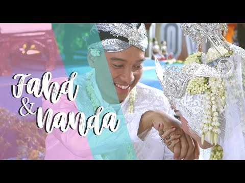 Wedding Nanda and Fahd