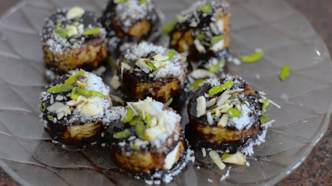 Choco Banana Recipe Easy Tasty Yummy Low Calorie Dessert