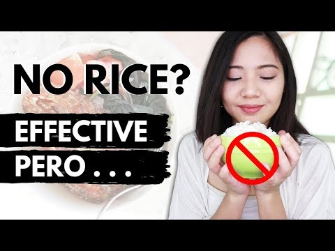 NO RICE DIET ♥ Effective Ba For Weight Loss? ♥ BROWN RICE Vs WHITE RICE