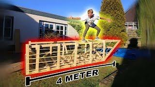 Wow! Duct Tape Boot Van 4 Meter Bouwen!