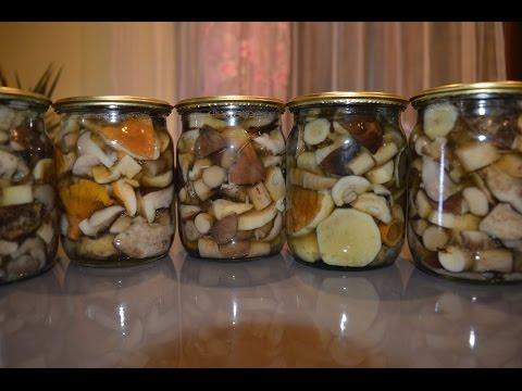 Маринованные грибы - Подробный рецепт