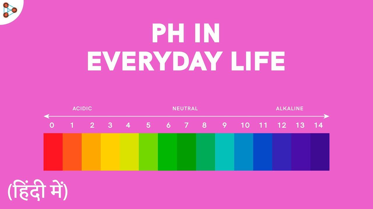 pH in Everyday Life! - CBSE 10 - in Hindi (हिंदी में )