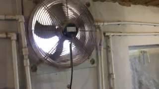 видео вентиляция в сарае для животных