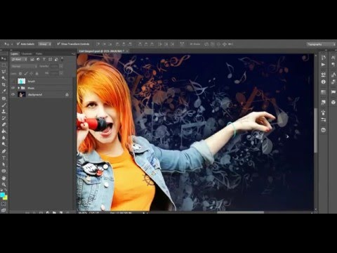 Tutorial: How to Use Music Notes Photoshop Action?