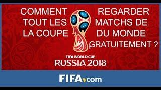 Comment regarder tout les matchs de la coupe du monde gratuitement ?