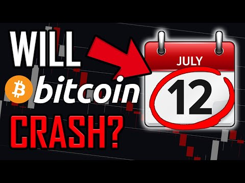 WARNING!! BITCOIN COULD CRASH ON JULY 12TH 2021