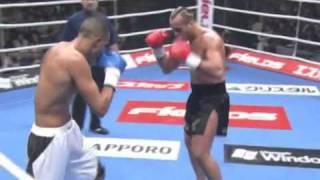 Badr Hari vs Stefan Leko        . K-1 World Grand Prix 2005