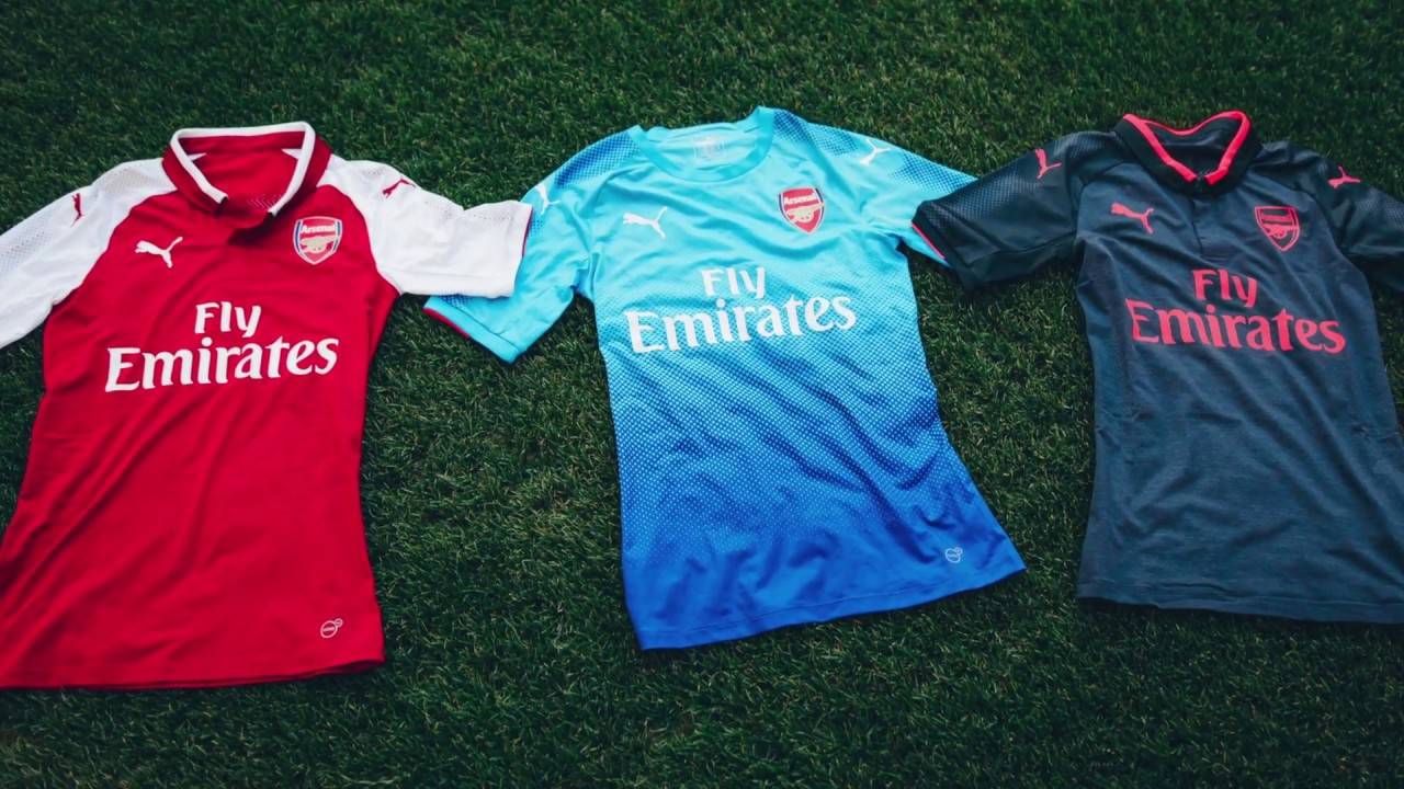 reputable site fee12 06be3 Puma Arsenal 2017/18 Away Jersey