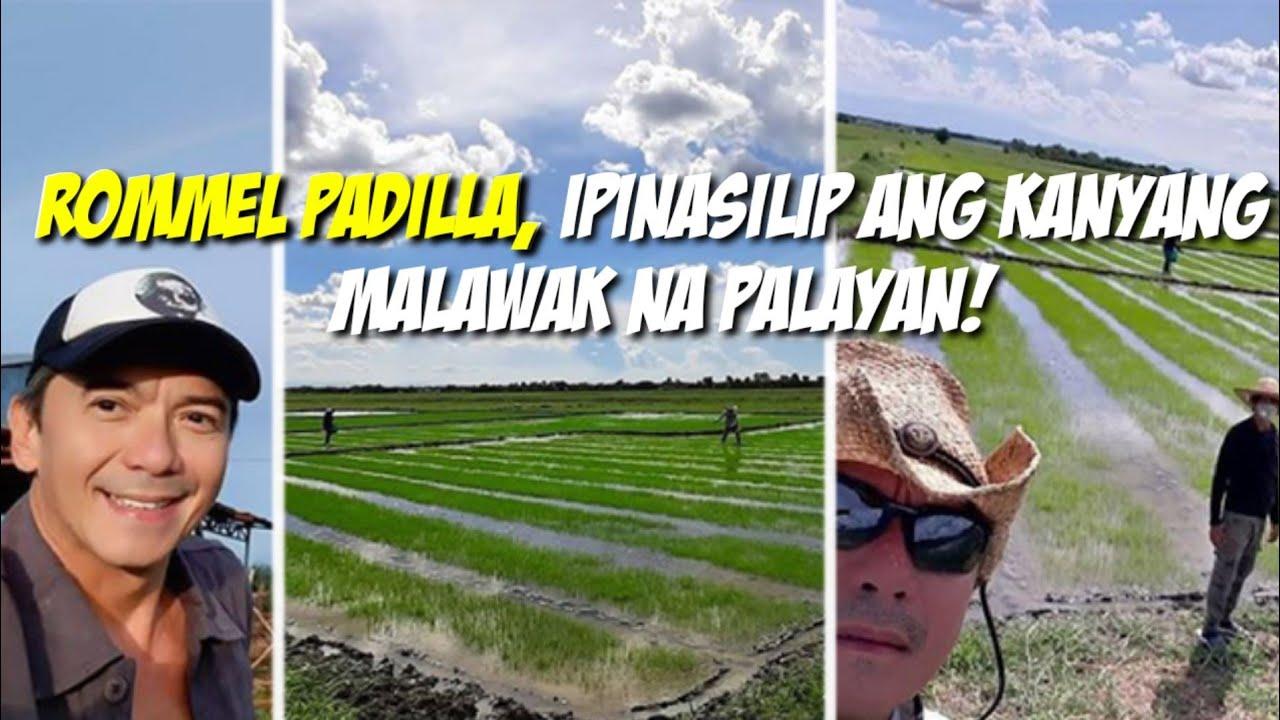 Silipin ang Napakalawak na Palayan ng Aktor na si Rommel Padilla na matatagpuan sa Nueva Ecija!