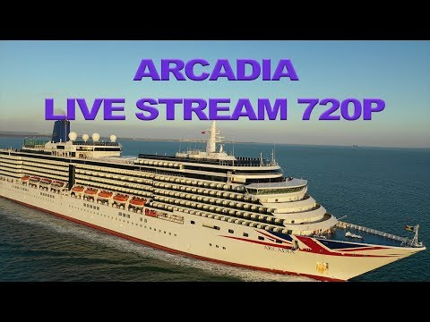 Arcadia Cruise Ship Chased By Drone